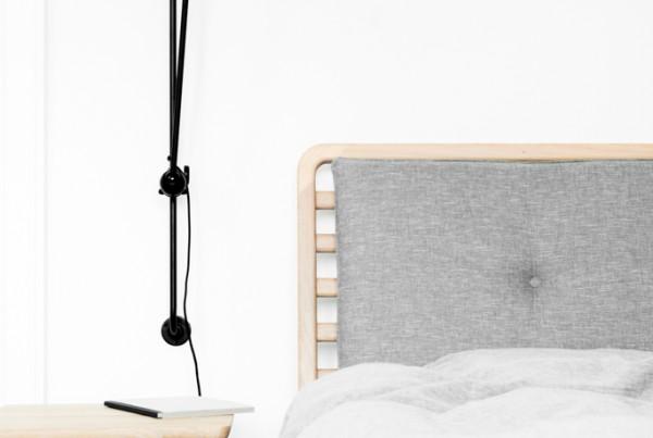 Projekt sypialni z biurem
